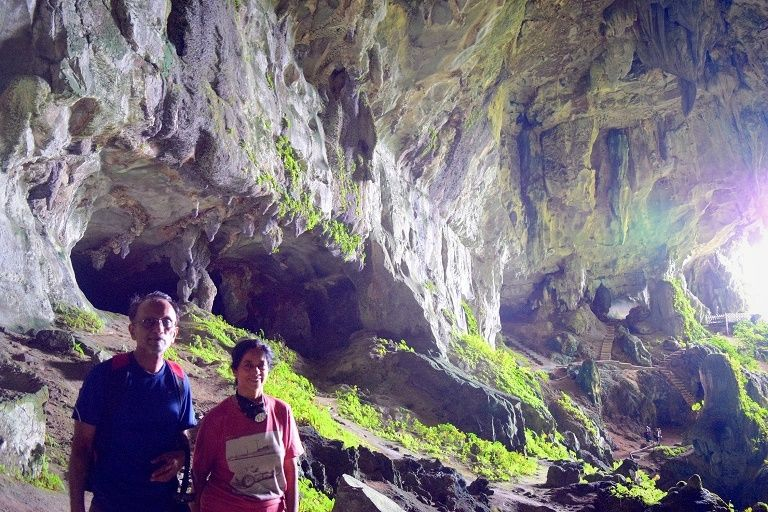 Exploring Fairy Cave of Bau town with Backyard Tour Malaysia