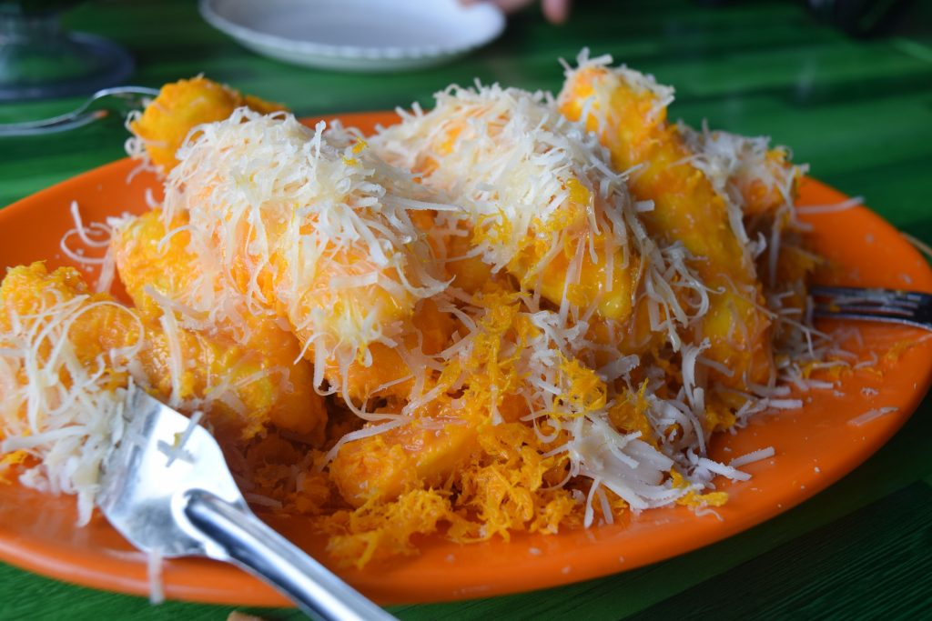 Pisang Cheese - One of the locals' favourite snacks