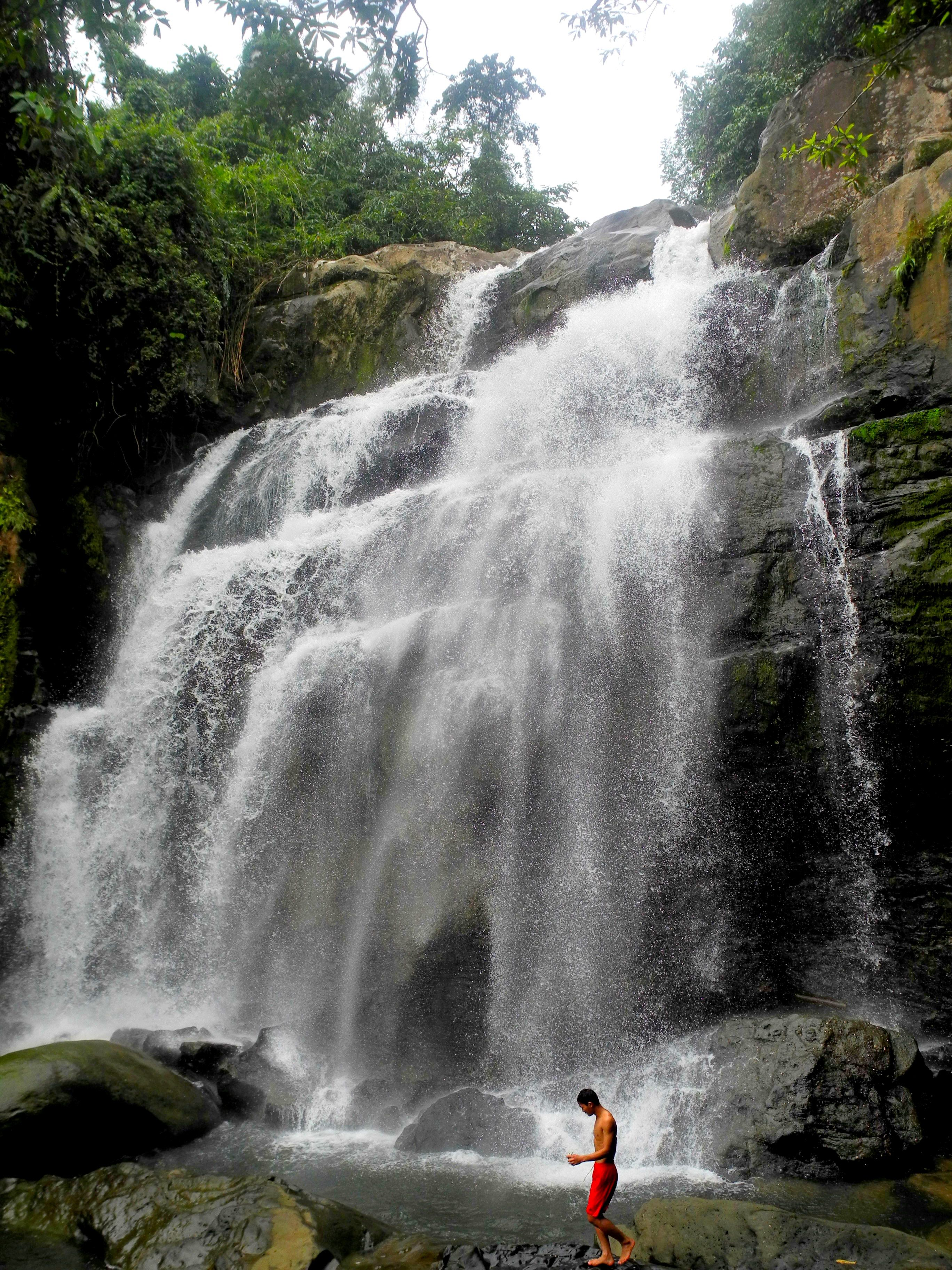 Natural beauty: Gareg Falls in Kampung Kiding - Backyard Tour