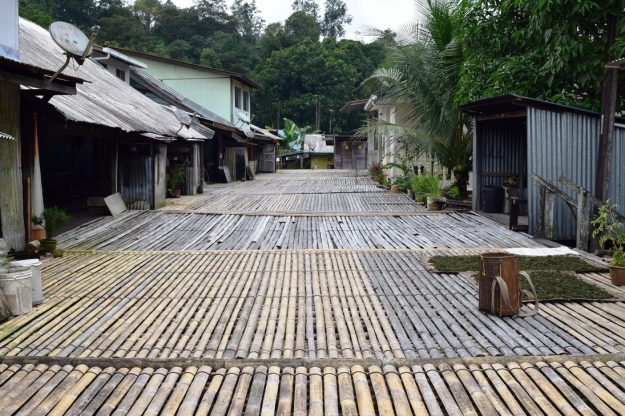 4D3N Mountain Village Experience: Still preserved Bidayuh longhouse