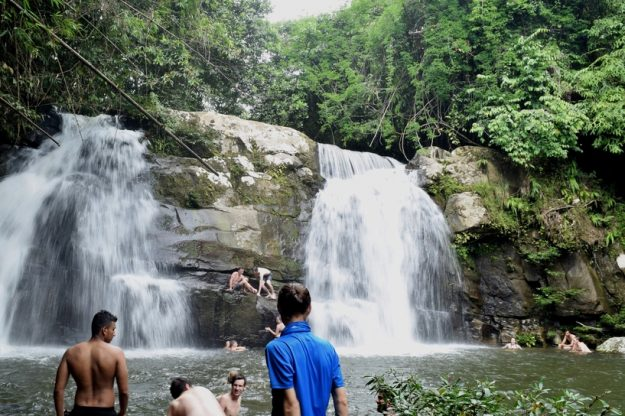 4D3N Mountain Village Experience: Trekking to Tanju Fall