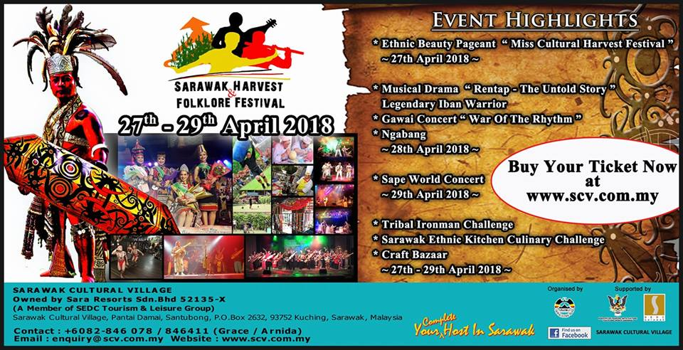 World Harvest Festival 2018 with Backyard Tour Malaysia