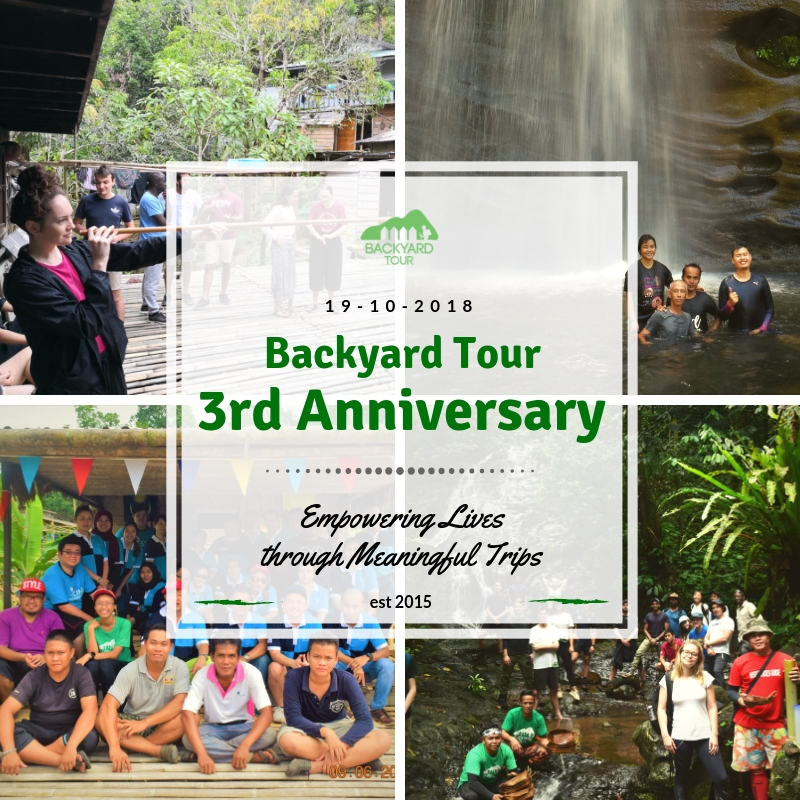 Backyard Tour 3rd anniversary with Backyard Tour Malaysia